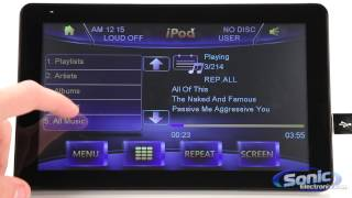 "Power Acoustik PD-931NBT In-Dash 9.3"" LCD Touchscreen Car Stereo Receiver w/ Bluetooth and iPod"