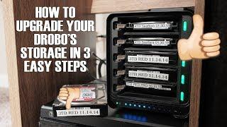 How to Upgrade your Drobo's Storage