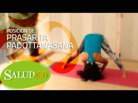 prasarita padottanasana cómo hacerla  salud180  youtube