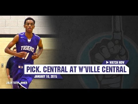 HS Basketball: Pickerington Central at Westerville Central [1/10/15] - YouTube