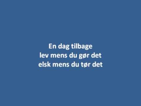 Nik & Jay En Dag Tilbage Lyrics
