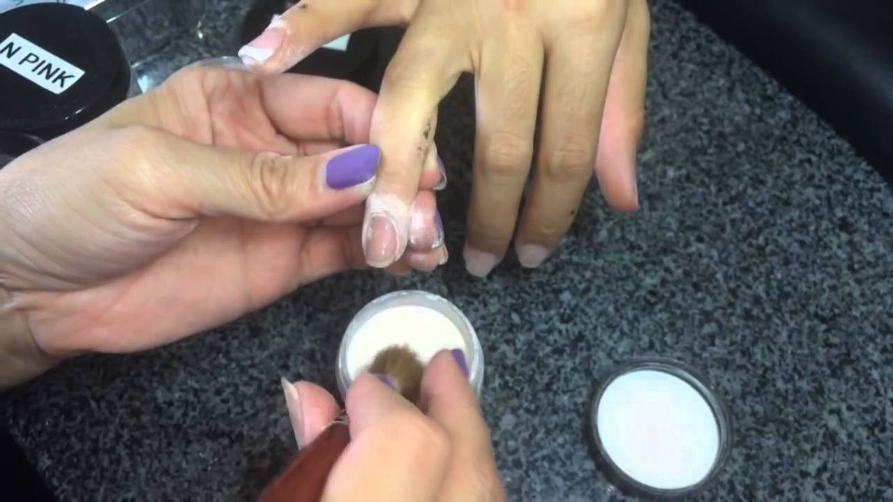 SNS TUTORIAL Learn how to do French, Ombré, and the Basic Co abpro ...