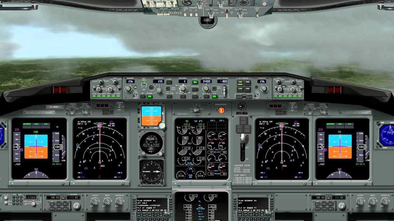 X-Plane 10 [HD] 737-800 Frankfurt Main nach Paderborn