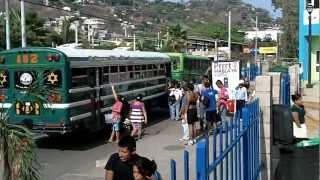 SEMANA SANTA, PUERTO DE LA LIBERTAD, EL SALVADOR (ABRIL 2012) 2.MOV