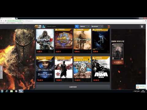 G2A.com Game CD Keys / Seriennummer günstig und legal kaufen