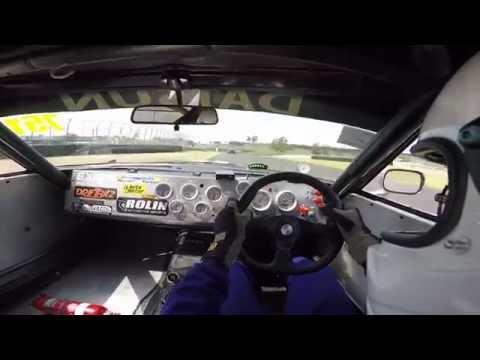 Datsun 260z Hot laps at sydney motor sport park
