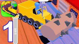Stone Miner - Gameplay Walkthrough Part 1 Levels 1-3 (Android, iOS) screenshot 1