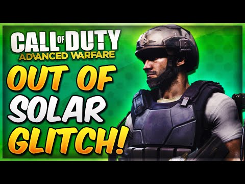 COD Advanced Warfare Out of Map SOLAR Glitch & On Top of Skybarrier! (AW Infected Glitches)