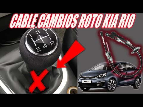 Kia Rio : Increíble Reemplazo de Cable de Palanca Cambios.