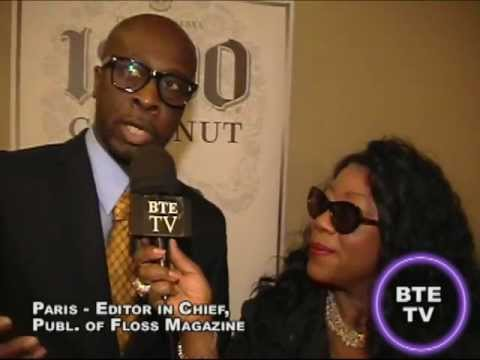 BTE TV interview Paris - Editor-in-Chief & Publisher of Floss Magazine