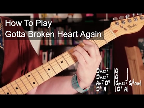 'Gotta Broken Heart Again' Prince - Chords, Bass and Guitar Solo