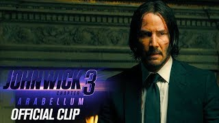 "John Wick: Chapter 3 - Parabellum (2019) Clip ""Director Conversation"" - Keanu Reeves"