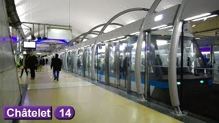 Châtelet | Ligne 14 : Métro de Paris ( RATP MP89 - MP05 )