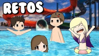 ROBLOX POOL CHALLENGES WITH ANORMAL TEAM 💦