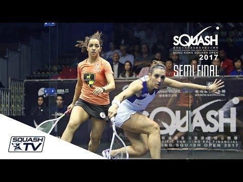 Squash: Hong Kong Open 2017 - El Welily v Serme  - Women's SF Roundup