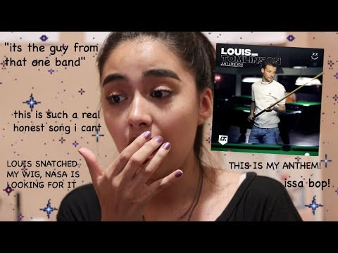 louis stan reacts to just like you by louis tomlinson