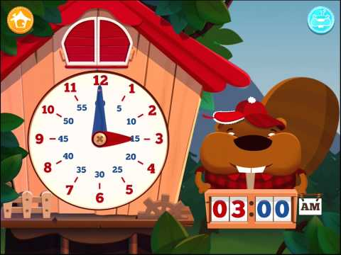 Tic Toc Time - Learn to Tell the time | Top Best Apps For Kids