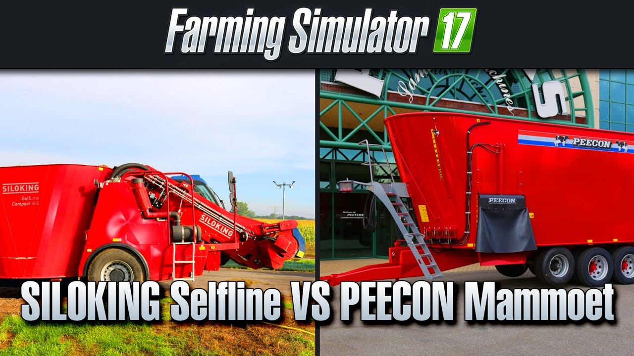How to: make TMR/power food (Farm Simulator 17)