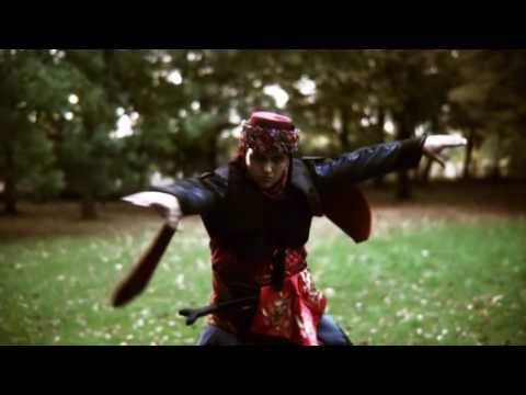 Oghuz turkic nomad Zeybek Dance