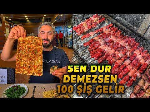 SEN DUR DEMEZSEN 100 ŞİŞ GELİR!!! | KAHRAMANMARAŞ LEZZETLERİ