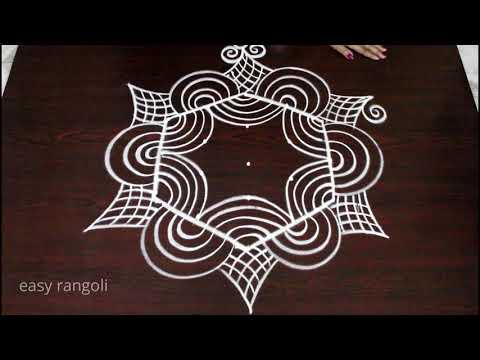 marghazi kolam designs for pongal 2018 - new dhanurmasam mugglu - easy and simple rangoli