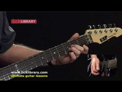 How To Play Paint It Black by The Rolling Stones | Guitar Lesson Licklibrary
