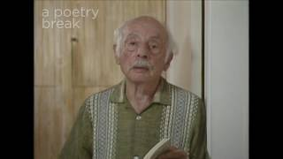 """Gambar cover Poetry Breaks: Stanley Kunitz Reads """"An Old Cracked Tune"""""""