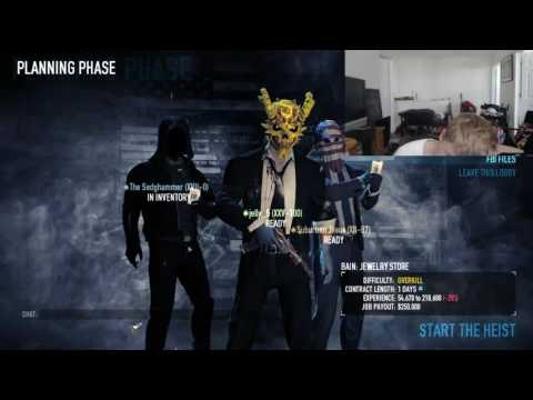Payday 2 Modded lobies free