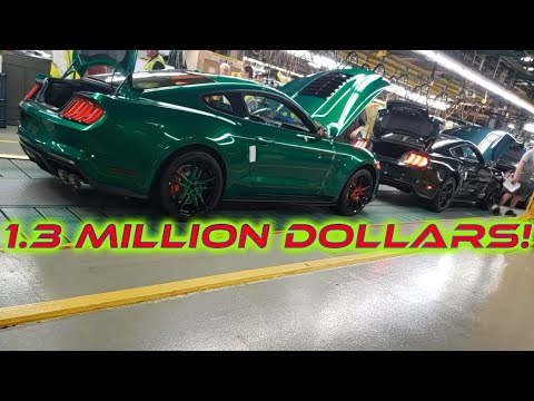 The 1.3 Million Dollar 2020 Mustang Shelby GT500! Serial Number 001!
