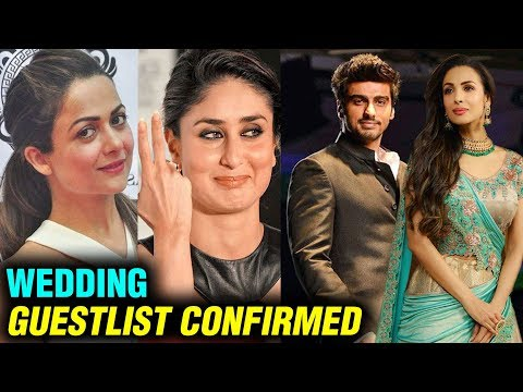 Malaika Arora - Arjun Kapoor REVEAL Their Wedding Guest List | Details OUT Mp3