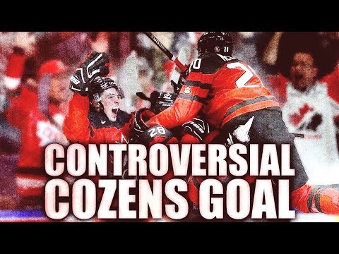 Dylan Cozens CONTROVERSIAL LAST-SECOND GOAL - Why It Was No Ones Fault (Hlinka Gretzky Cup - USA)