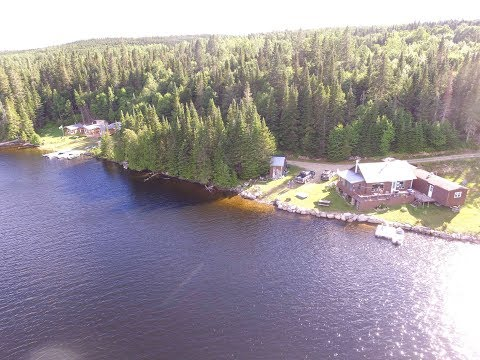 Fishing and Hunting Lodge for Sale in New Brunswick, Canada