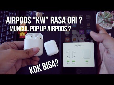 Review The Real Airpods NON Original 1:1 | Kualitas Mengejutkan !