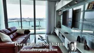 SOLD ~ Huge Contemporary 3 Bed at 900 Biscayne Bay - 900 Biscayne Blvd, #2606, Miami Luxury Condo