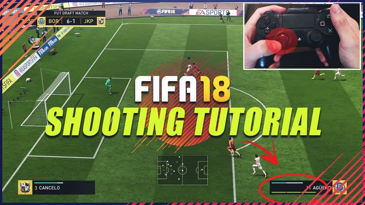 The Best Shooting Techniques In Fifa  Score Almost Every Time Fifa  Shooting Tutorial