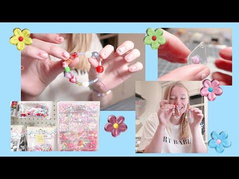 🌼 Art Store & Making Bracelets 🌼 VLOG