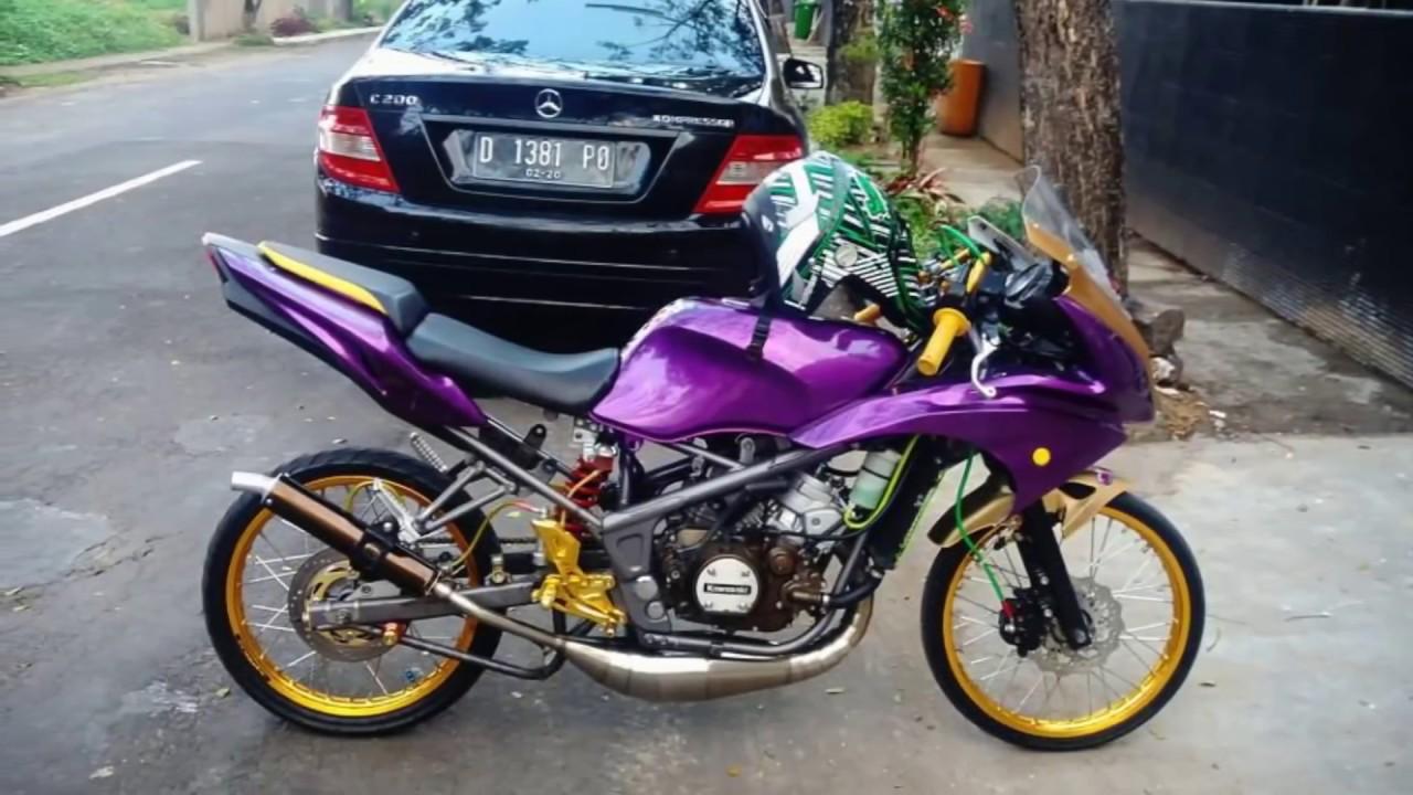 Modifikasi Motor Ninja Rr Merah Motor Motor Unik