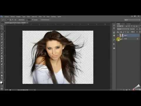 Recorte Perfecto Photoshop CS6 (Mascara Rápida - Perfeccionamiento Borde VIsta Blanco Negro )