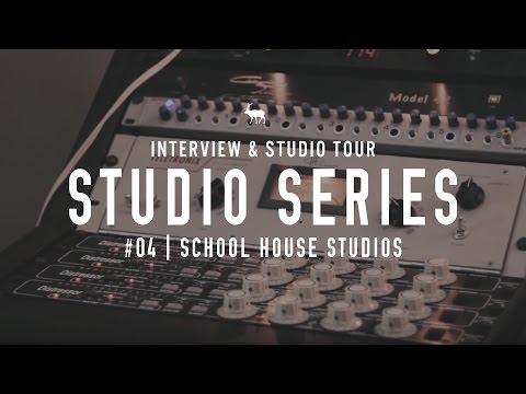 Studio Tours: School House Studios - (How To Build A Home Studio In 2019)