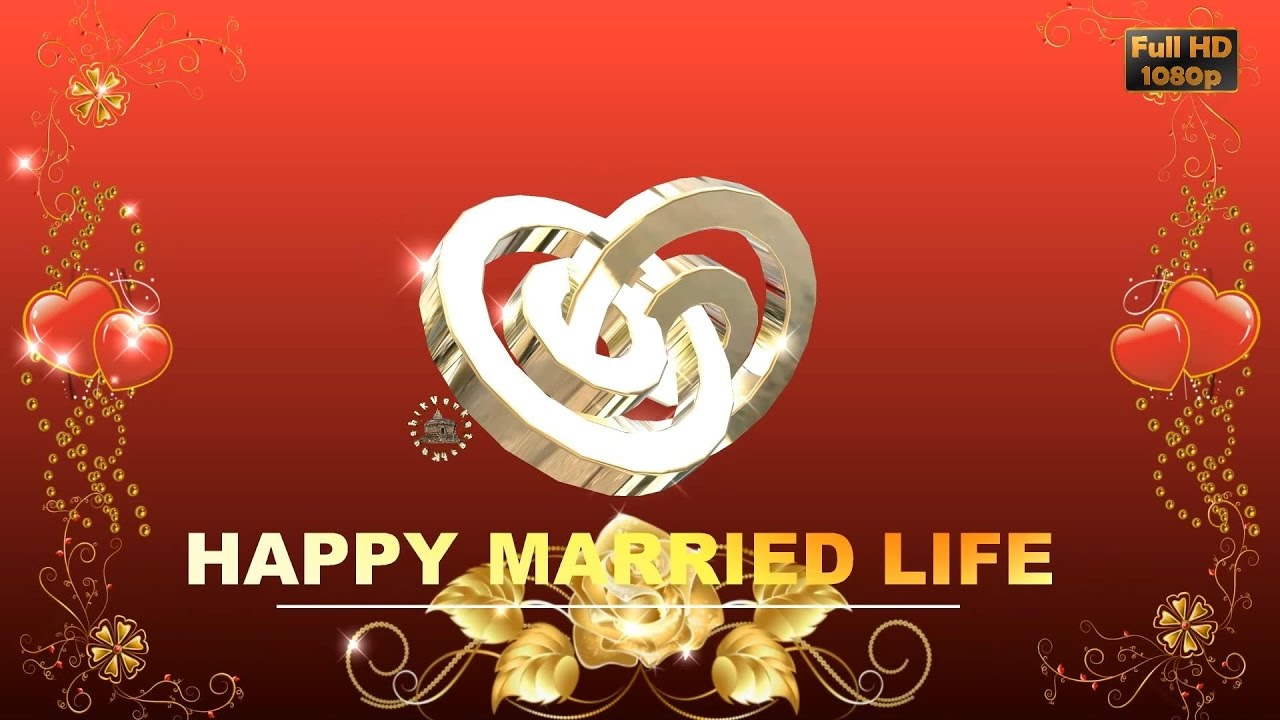Great Happy Wedding Wishes, SMS, Greetings, Images, Wallpaper, Whatsapp Video,  Super Animation   YouTube