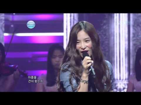 Kim Yeo Hee - My music (김여희 - 나의 노래) @ SBS Inkigayo 인기가요 100801