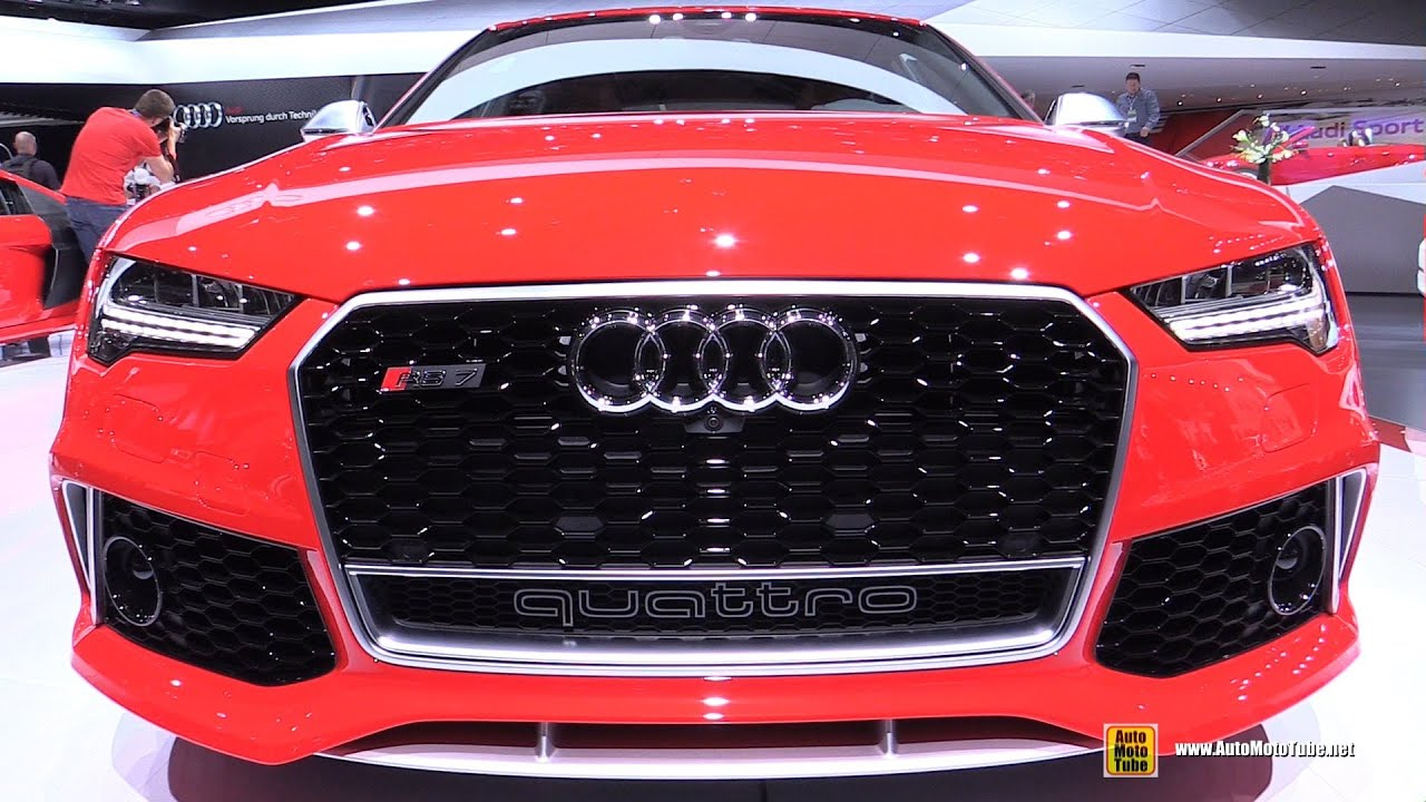 2015 audi rs7 exterior and interior walkaround 2015 detroit auto show youtube. Black Bedroom Furniture Sets. Home Design Ideas