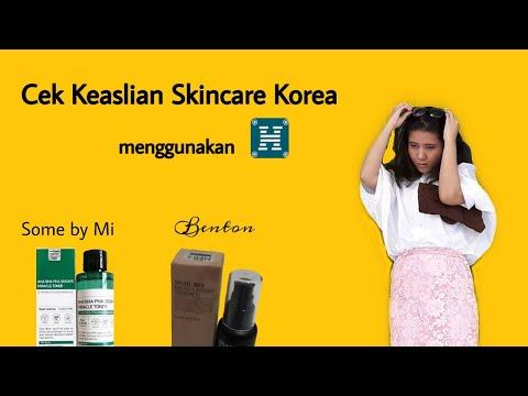 Cek Keaslian Skincare Korea - YouTube  Channel: imyonie Jangan lupa di like, subscribe, share dan comment