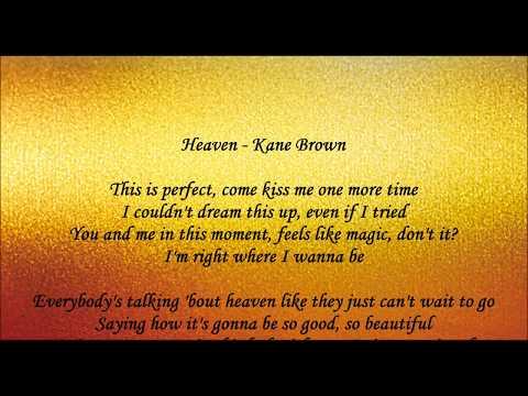 Heaven - Kane Brown Lyrics