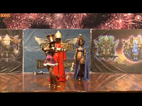 Perfect League Of Legends Cosplay Show - 동영상