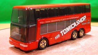トミカショップオリジナル 三菱ふそう エアロキング 2階建てバス