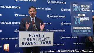 DeSantis: We're Looking into Buying Our Own Monoclonal Antibodies After Biden Cuts Supply