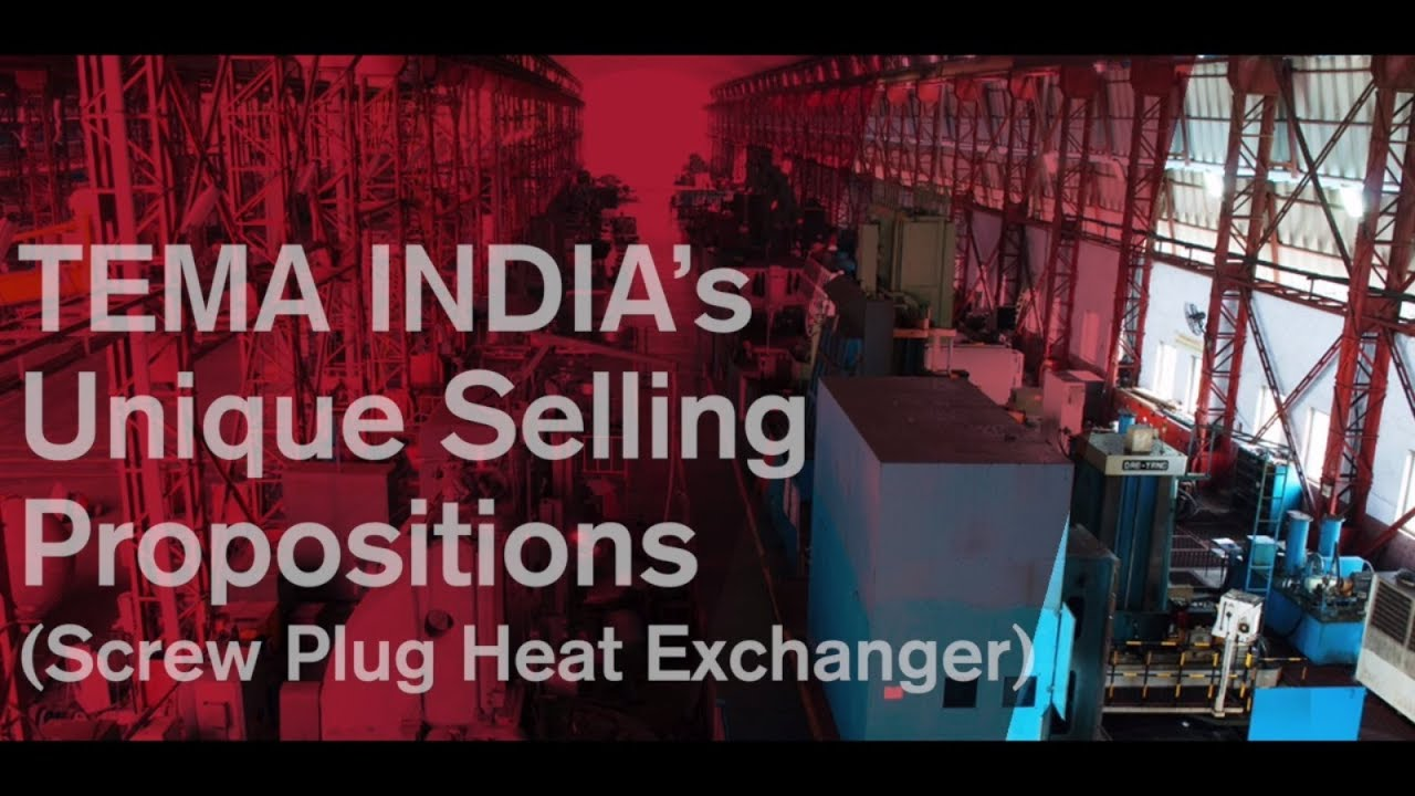 Download TEMA INDIA's Unique Selling Propositions (Screw Plug Heat Exchanger)