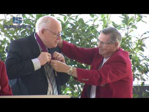 ATHLETICS: John Gorham at Wall of Distinction Ceremony
