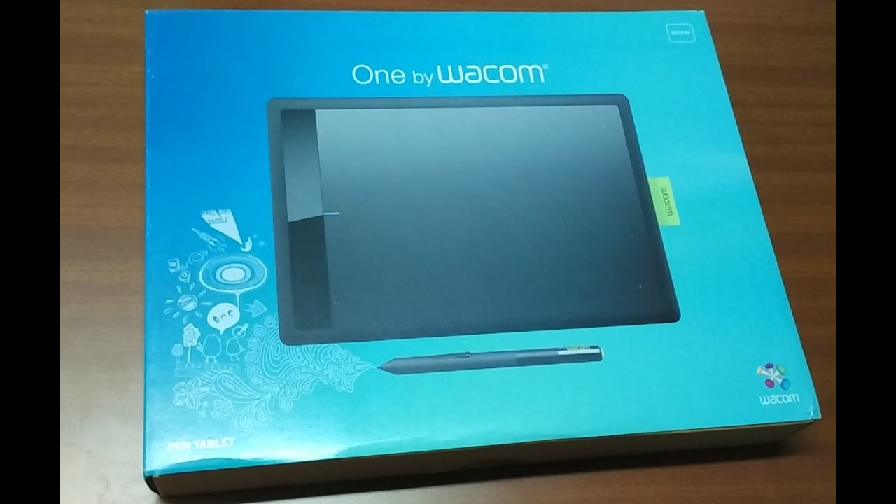 Unboxing of One By Wacom (Medium) Tablet (CTL-671)